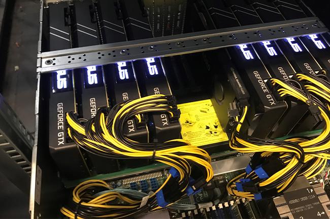 Der leistungsstarke GPU Server