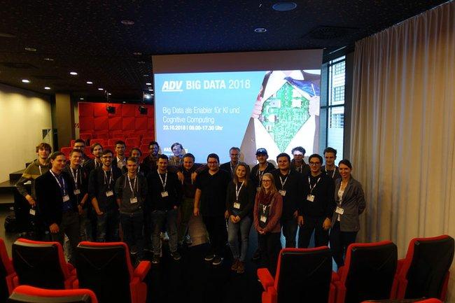 Studierende von Data Science bei der ADV Big Data 2018