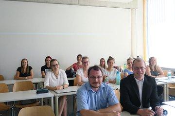 Peter Kieseberg zu Gast im Master Studiengang Media- und Kommunikationsberatung