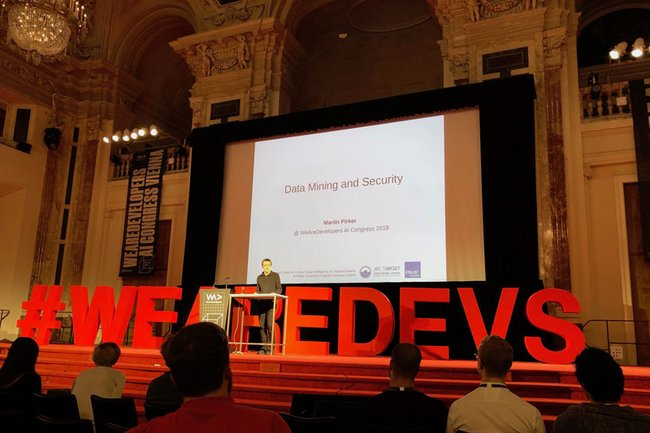 Martin Pirker beim AI Congress