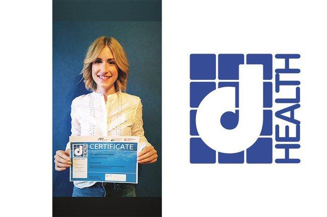 Master-Studentin Anna Lienhart gewinnt bei dHealth 2020