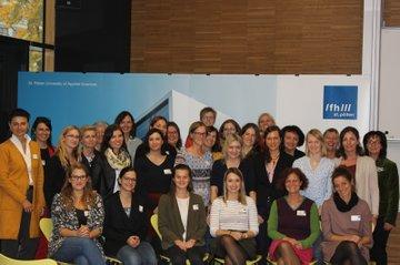 Teilnehmerinnen der Fortbildungsveranstaltung