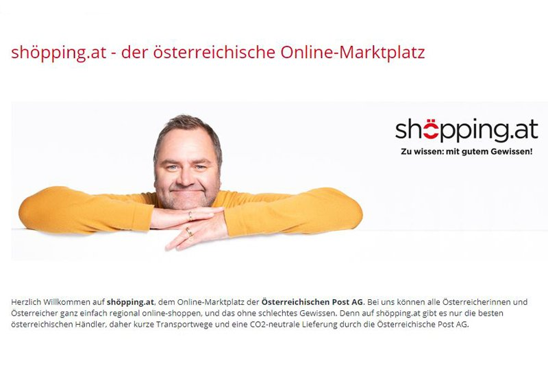 Website von shöpping.at