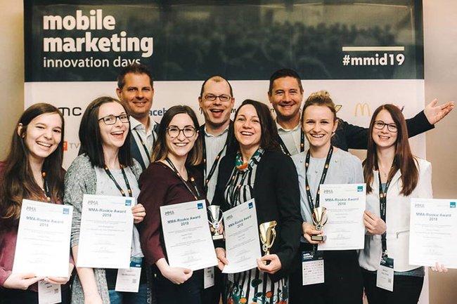 Die Master-Studierenden der Media- und Kommunikationsberatung bei den Mobile Marketing Innovation Days 2019.