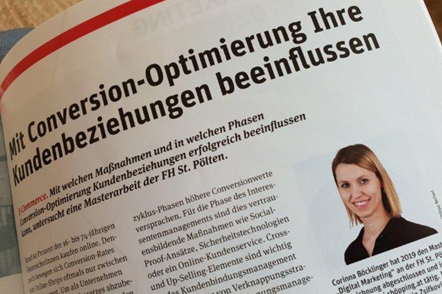 Auszüge der Masterarbeit von Corinna Böcklinger wurden im Fachmagazin Retail publiziert