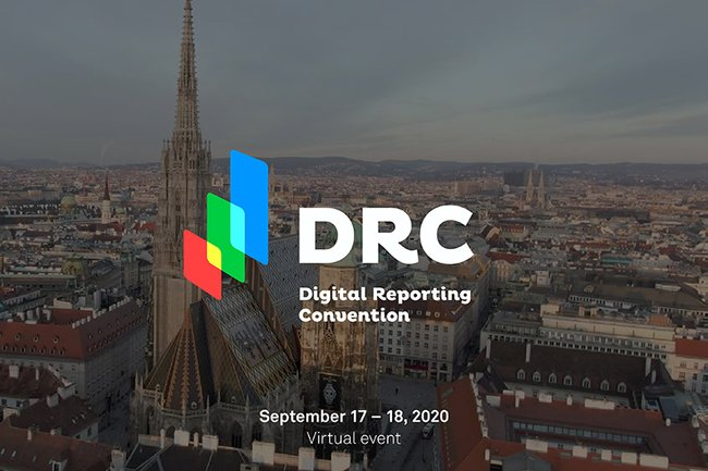 Digital Reporting Convention vom 17. - 18. September 2020 in Wien
