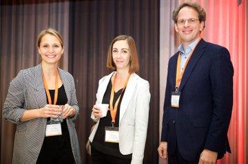 Sabrina Egle, Barbara Klinser-Kammerzelt, Martin Waldbauer bei der Jetzt Voice Konferenz in Wien