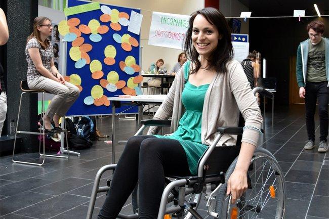Mobilitätscheck am Diversity Day 2017