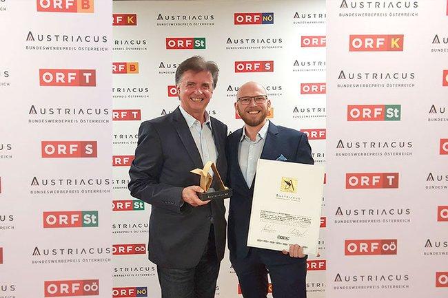 Absolvent der FH St. Pölten Matthias Fierlinger gewinnt doppelt Gold