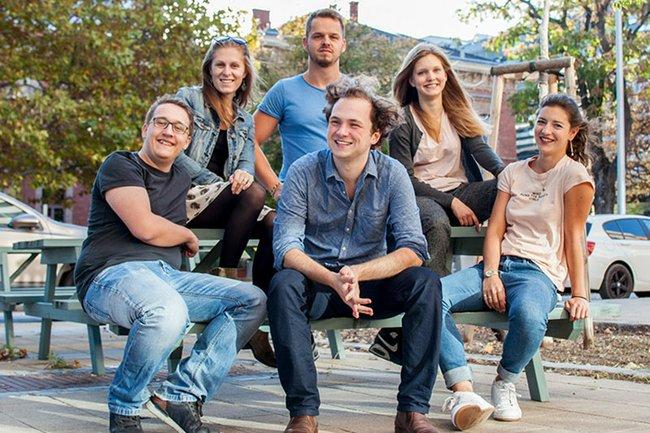 Das Team des erfolgreichen Wiener Startups Druckster.