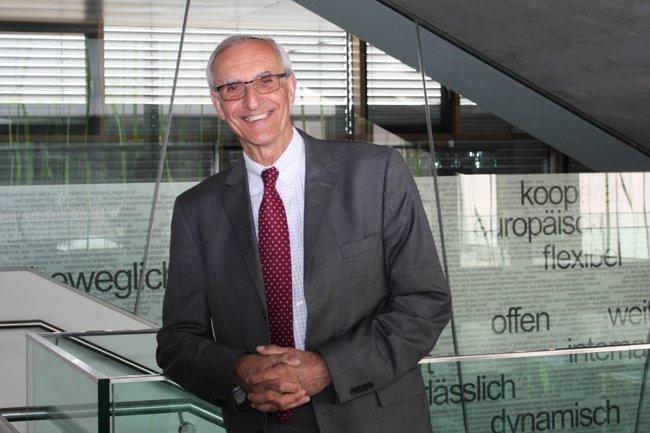 Josef Kolarz-Lakenbacher führte den FH-Förderverein über zehn Jahre als Obmann an.