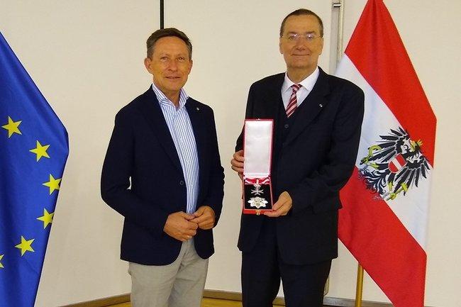 Ehrung Prof. Gerhard Gürtlich