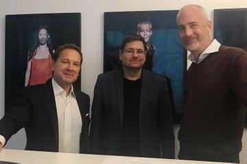 (v.l.n.r.): Michael Litschka, Helmut Kammerzelt und Matthias Stöcher