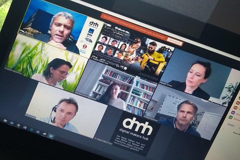 Der Digital Makers Hub bietet eine Plattform für digitale Innovation, Kreativität und Interaktion