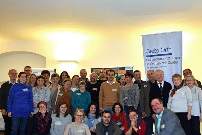 TeilnehmerInnen am BürgerInnenrat in Orth/Dona