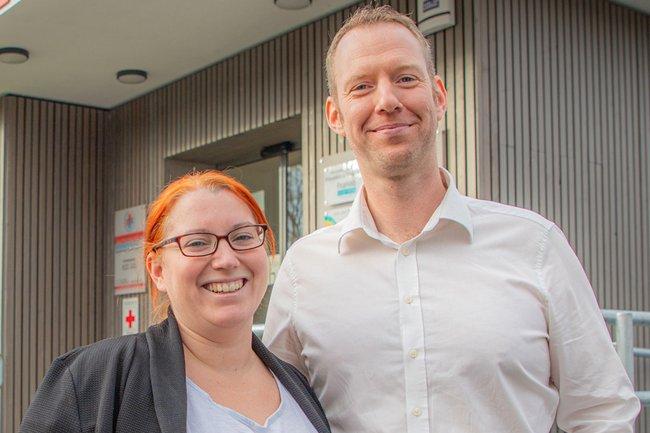 Stefan und Cornelia Rottensteiner leiten seit Herbst 2019 das PräHabzentrum Breitenfurt.