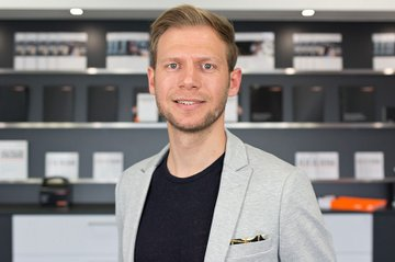 René Beck, Leiter Sponsoring und PR, Saxoprint