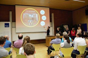 Internationale Teams präsentieren ihre Projekte