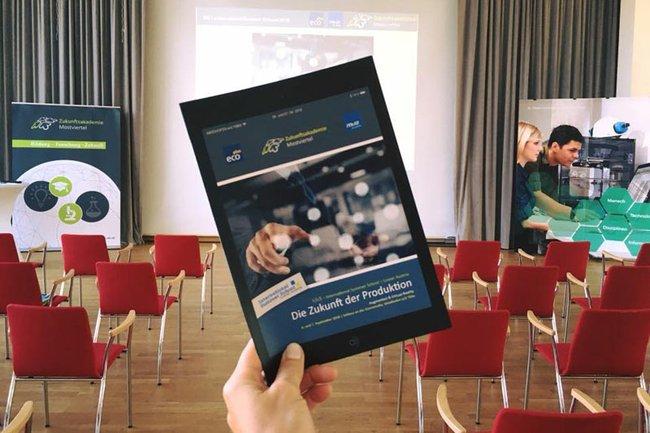 """Die International Summer School zum Thema """"Die Zukunft der Produktion – Augmented & Virtual Reality"""""""