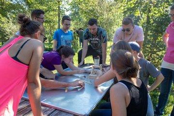 Startschuss für das iLab beim Teamtraining in Ottenstein
