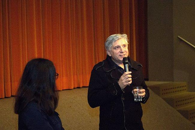 Werner Boote im Publikumsgespräch