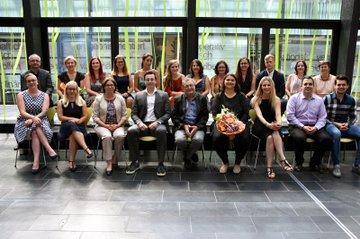 Absolventinnen und Absolventen des Akademischen Lehrgangs Sozialpädagogik