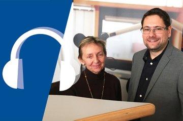 Monika Vyslouzil, Leiterin des FH-Kollegiums, und Helmut Kammerzelt, stellvertretender Leiter des FH-Kollegiums