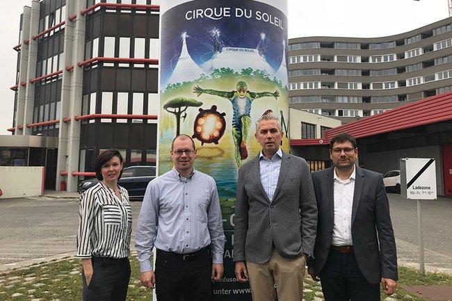 Die Runde des Expertengesprächs (v.l.n.r.): Monika Kovarova-Simecek, Harald Wimmer, Franz Solta und Helmut Kammerzelt.