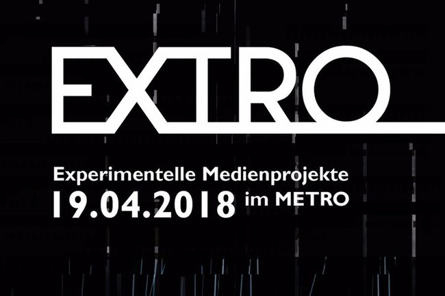 Bei der EXTRO im METRO Kinokulturhaus präsentierten Medientechnik-Studierende ihre Projekte