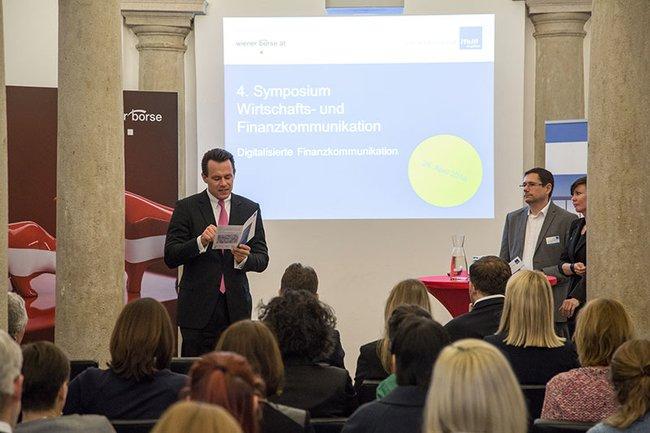 4. Symposium Wirtschafts- und Finanzkommunikation mit Monika Kovarova-Simecek