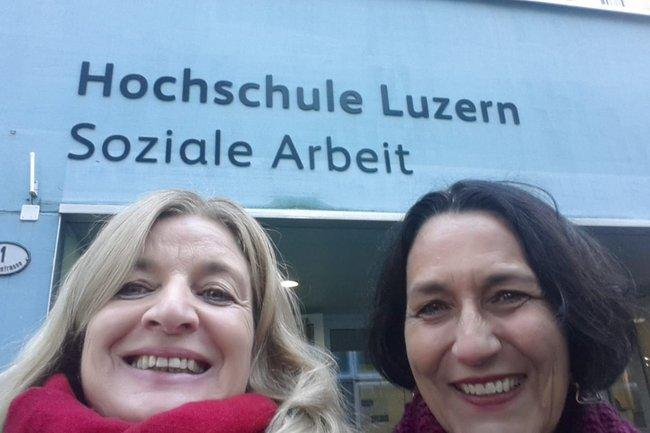 Heike Hör und Christine Haselbacher