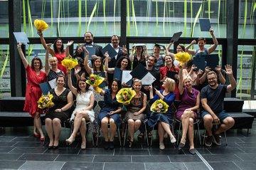 Abschlussfeier des Akademischen Lehrgangs Sozialpädagogik