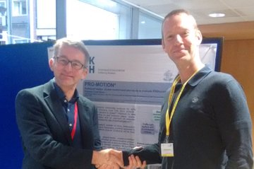 FH-Dozent Stefan Rottensteiner und Peter Nydahl, MScN