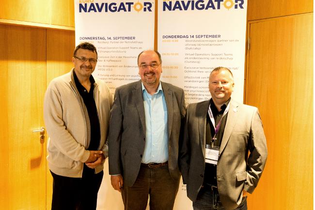 Stefan Wallner, Christoph Redelsteiner, Heinz Novosad