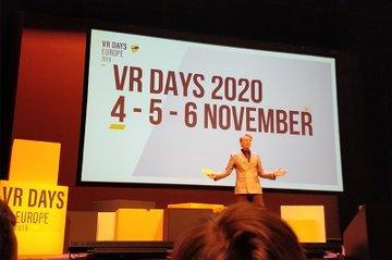 FH-Forscher bei den VR Days Europe 2019