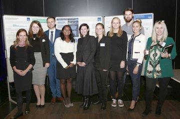 Studierende und Mitarbeiterinnen der FH St. Pölten (Wirtschafts- und Finanzkommunikation MA) bei der C.I.R.A.-Jahreskonferenz.