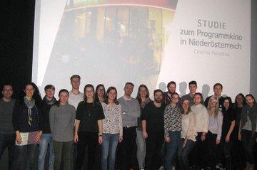 Der Bachelor Studiengang Medienmanagement führte eine Studie für das Cinema Paradiso St. Pölten durch.