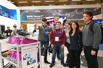 Smart Engineering Studierende beim WeAreDevelopers World Congress