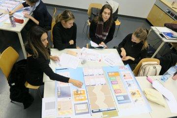 Studiernede der FH-St. Pölten beim Tutorial Planspiel