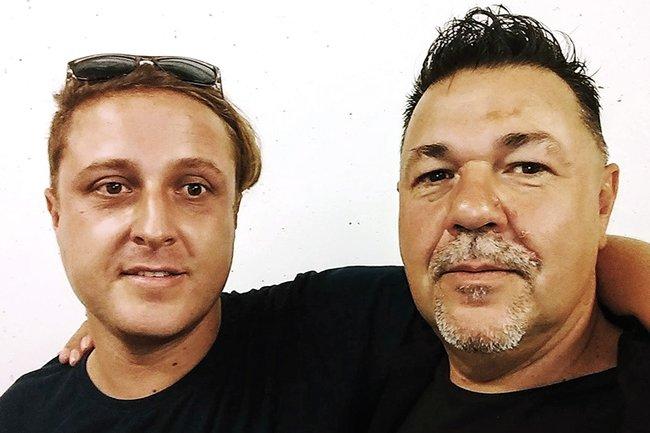 Stefan Trenker und Alois Huber