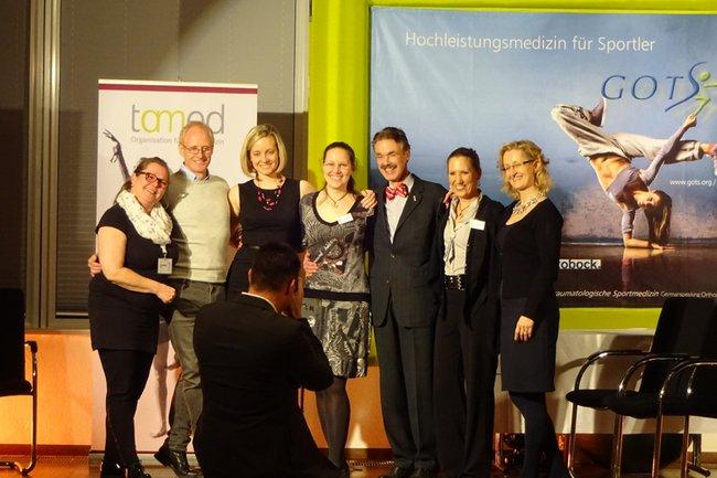 v.l.n.r: Kim Flammiger, Peter Lewton-Brain, Patrizia Melchert, Anita Kiselka, Boni Rietveld, Judith-Elisa Kaufmann, Elisabeth Exner-Grave