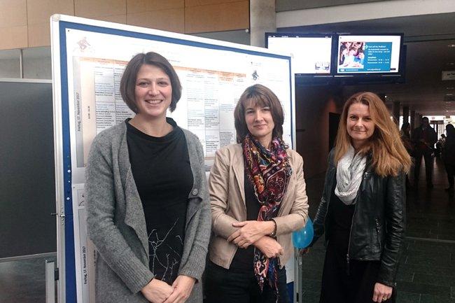 Dr. Elisabeth Höld, Dr. Ulrike Garstenauer, Ass. Prof. Dr. Petra Rust (von links nach rechts)
