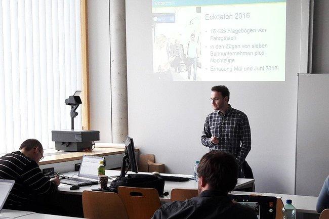 Gastvortrag Markus Gansterer vom VCÖ