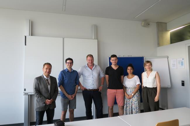 Gastvortrag von Gerhard Fehr im Studiengang Digital Media Management