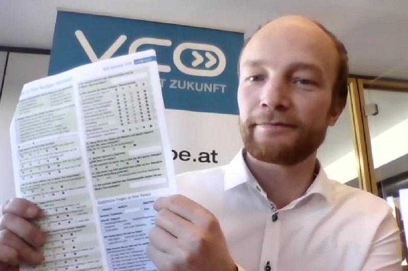 Gastvortrag Michael Schwendinger über den VCÖ-Bahntest
