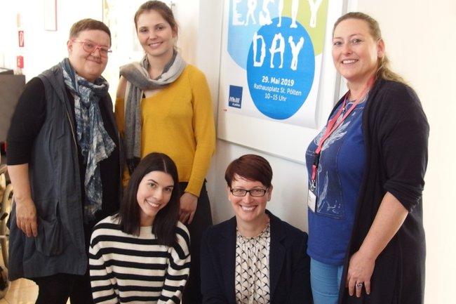 Das Team rund um den Diversity Day 2019