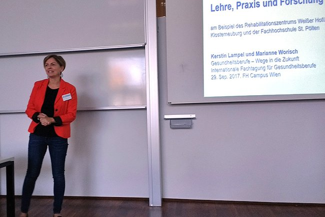 Vortrag von Kerstin Lampel