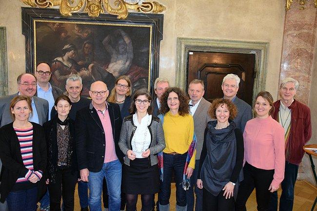 Teilnehmer*innen des Jahresmeetings desD/A/CH-Netzwerks für Gesundheitsförderung in Krems