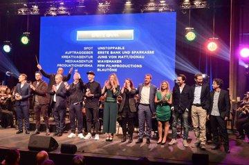 Gold-GewinnerInnen beim ORF-Award 2019