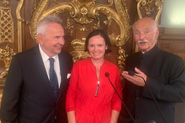 Jörg Arnulf Eggers erhält Großes Ehrenzeichen für Verdienste um die Republik Österreich